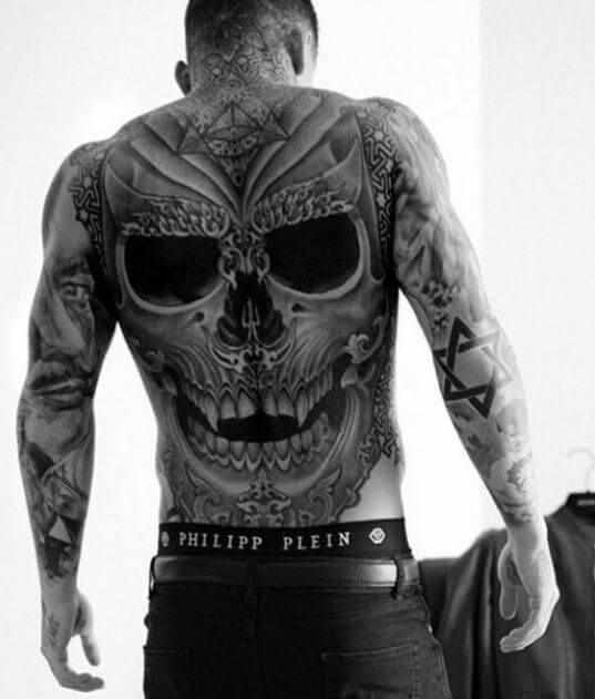 145+ Badass Skull Tattoos for Men and Women (2018) - Page