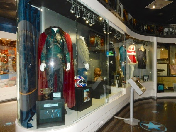 Universal Studios Hollywood movie costume exhibit