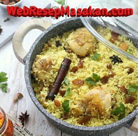 Nasi mandhi ayam, Nasi mandhi khas arab, Resep nasi mandhi ayam,