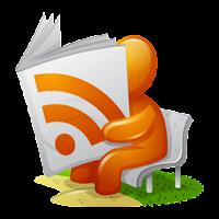 RSS feed reader icon (via iconspedia.com)