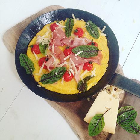 Glutenfreie Polentapizza_My Kitchen Logbook by Marlene Grünzweil