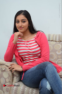 Telugu Actress Mouryani Latest Pos in Blue Denim Jeans  0136.JPG