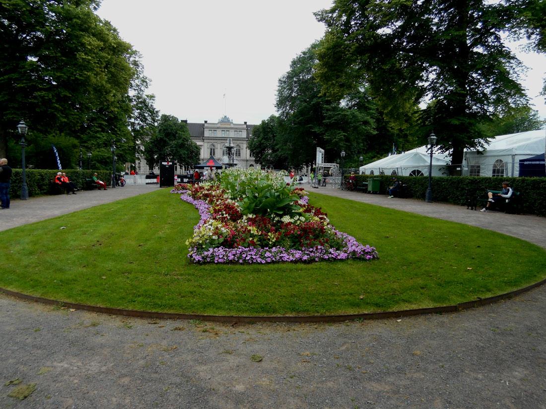 Un giardino a Jönköping