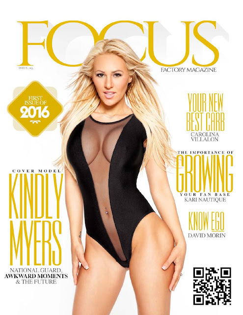 Kindly Myers - Focus Factory Magazine USA, January 2016