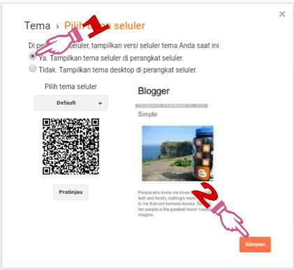 cara mengubah template blog jadi responsive