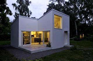 Desain Rumah Kecil Unik Era Modern 2016 3
