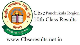 cbse panchukula region 10th results