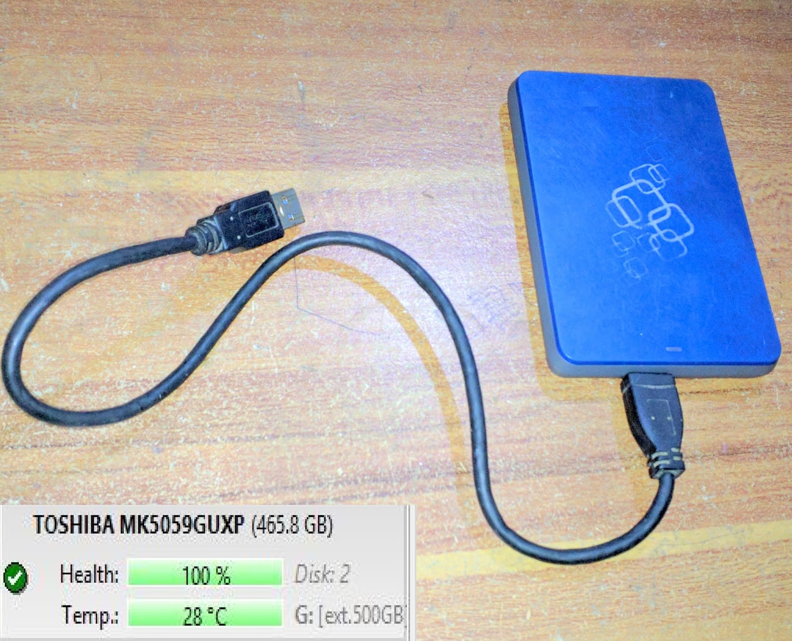 Jual Hardisk External 500GB USB 30