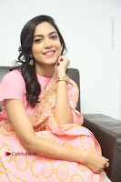 Actress Ritu Varma Pos in Beautiful Pink Anarkali Dress at at Keshava Movie Interview .COM 0311.JPG