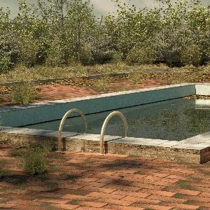 Abandoned Pool Escape Walkthrough