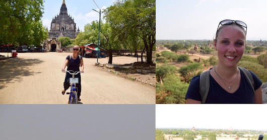 Exploring the Temples of Bagan, Myanmar by Bicycle