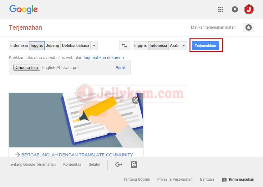 translate inggris indo pdf