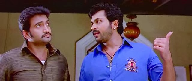 Screen Shot Of Hollywood Movie Alex Pandian (2013) In Hindi Dubbed Full Movie Free Download And Watch Online at worldfree4u.com