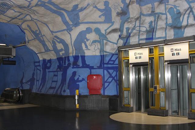 Стокгольм, стокгольмское метро