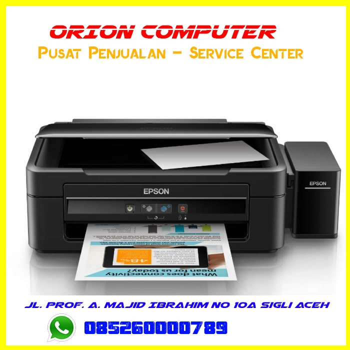 cara scan di printer epson l360 di windows 8
