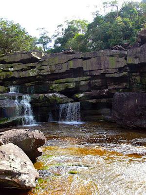 bokor waterfall pool