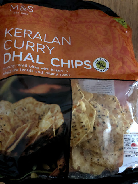 Keralan Curry Dhal Chips