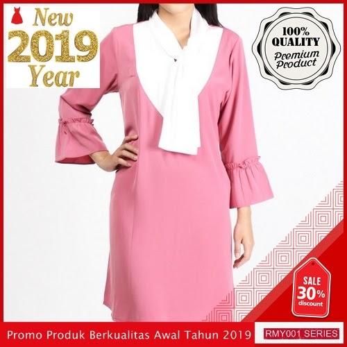 RMY027J42 Jeje Casual Dress Polos Keren Tangan 3 BMGShop