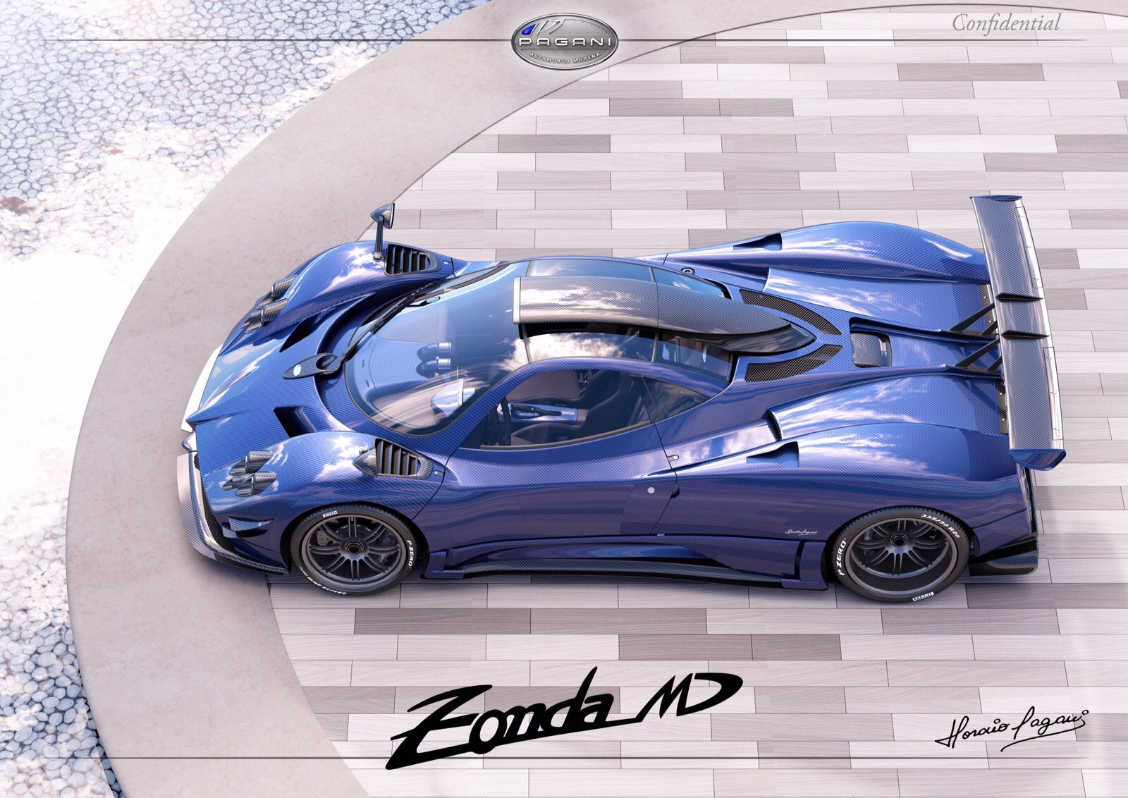 prototype 0 prototype 0 reveals the pagani zonda md