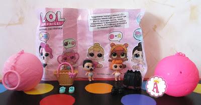 Маленькие сестрички кукол L.O.L. Surprise Dolls Season 2