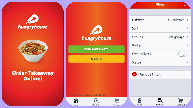 hungry horse take away app find all your local take away's in one place
