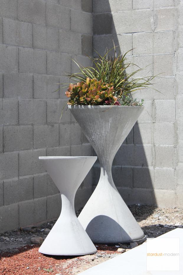 Mid Century Planter Modern Garden Design Modern Planter