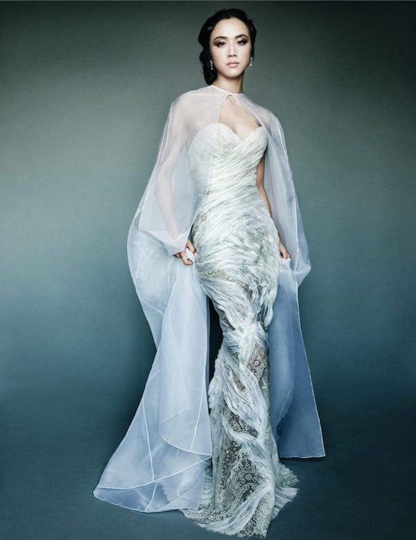 Tang Wei by Mario Testino for Vogue China
