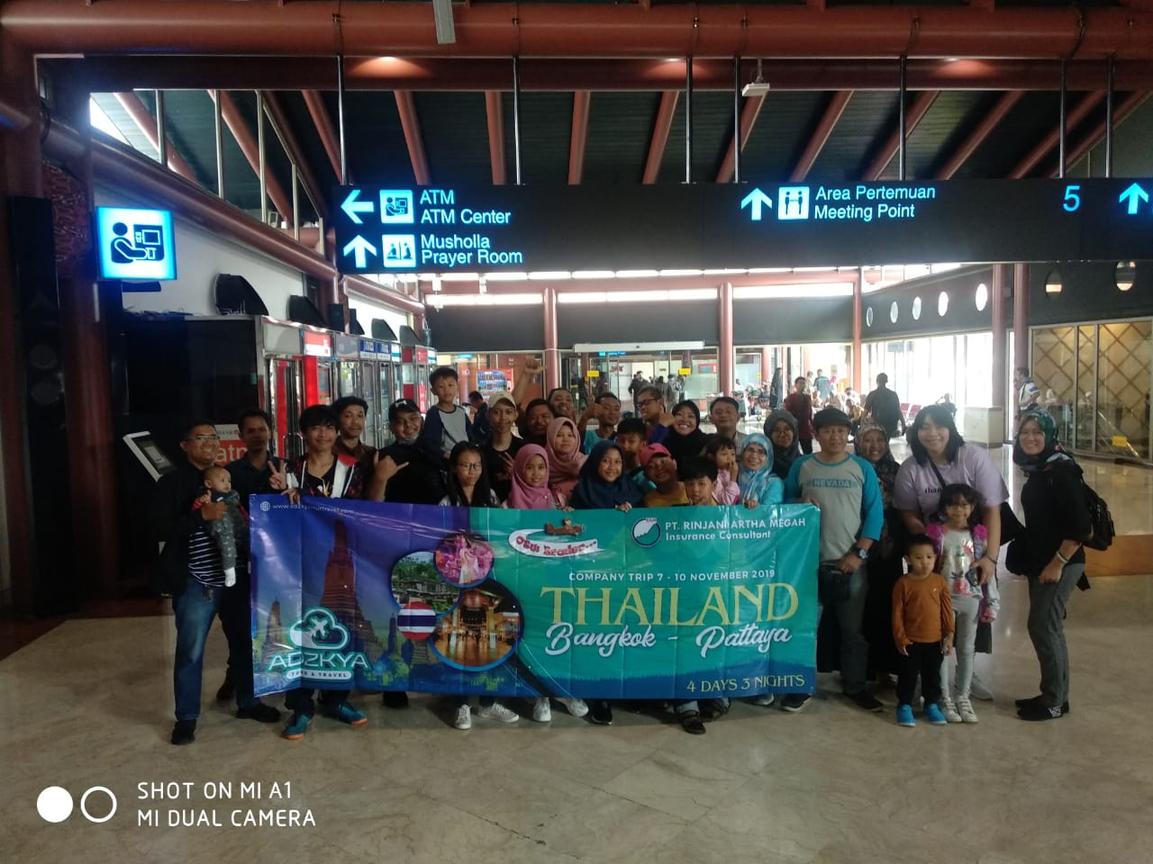 BANGKOK PATTAYA 07 - 10 NOV 2019 WITH PT RINJANI ARTHA MEGAH