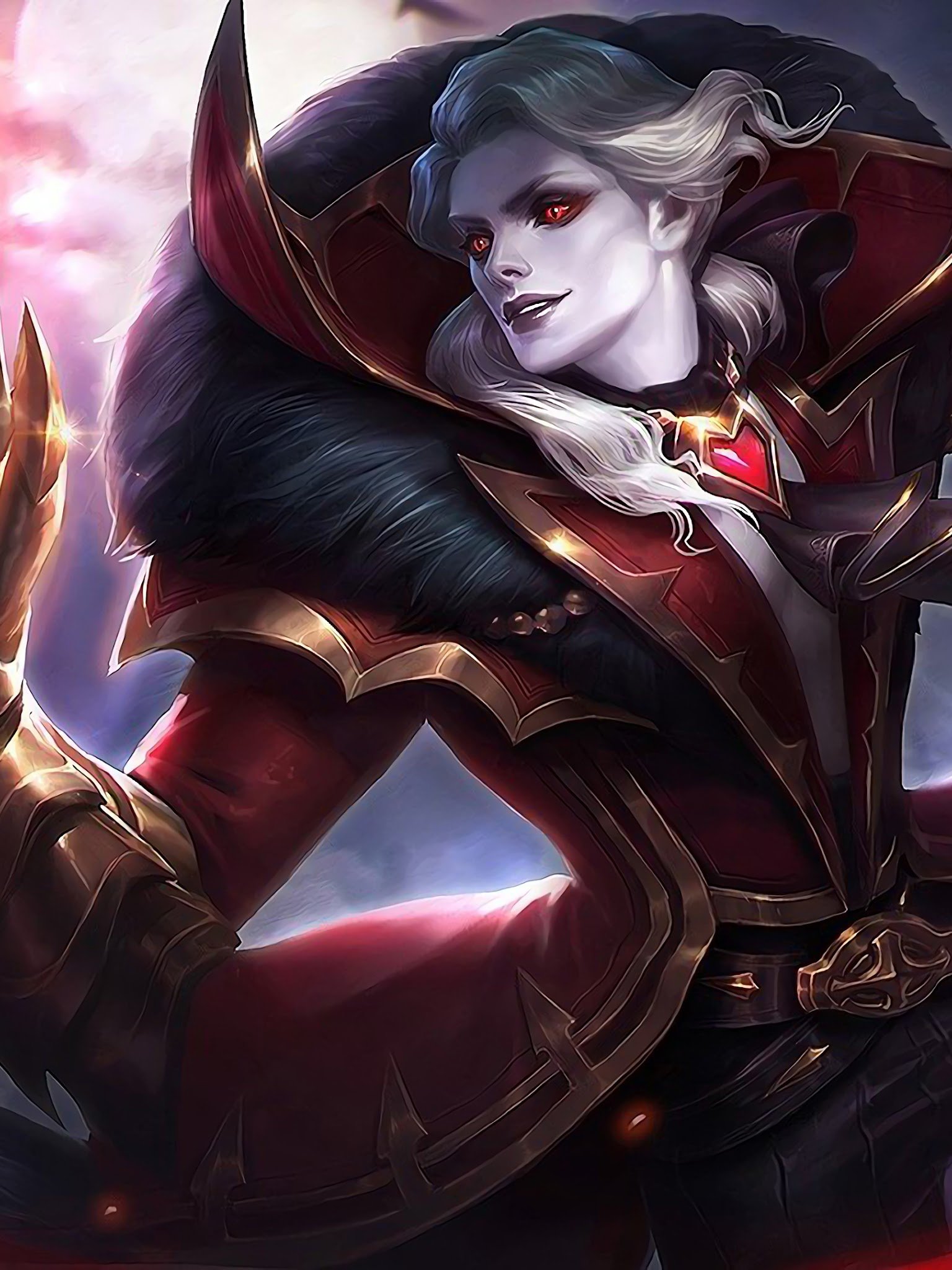 Alucard Viscount Skin Mobile Legends 4K Wallpaper #40