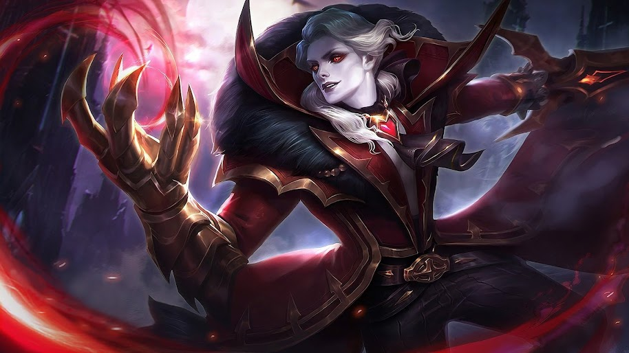 Alucard Viscount Skin Mobile Legends 4k 40 Wallpaper