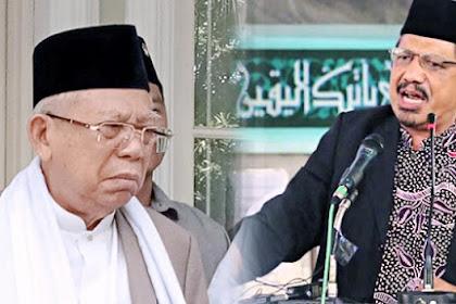 Nasehat Terbuka KH. Athian Ali untuk Ma'ruf Amin