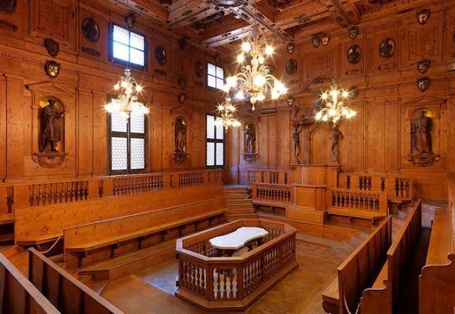 Teatro Anatômico em Bolonha