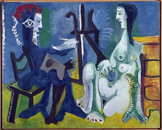 El pintor y la modelo. Picasso. Museo Reina Sofia