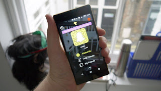 Snapchat for windows Phone