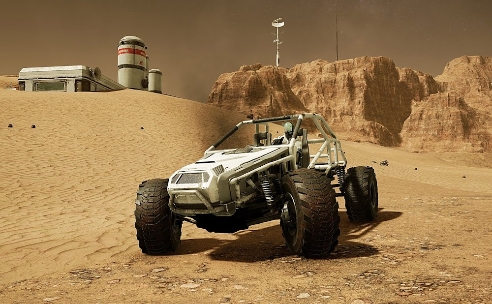 Memories of Mars game image - ATV rover