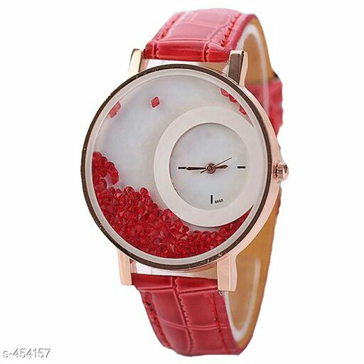 Stylish Pu Leather Women's Watch