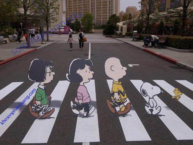 Sơn phản quang kẻ đường giao thông