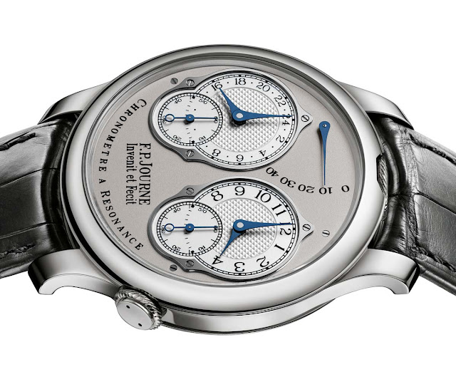 F.P.Journe Chronometre A Resonance with Analog 24 Hour Display