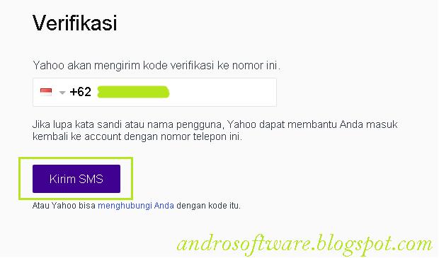 Verifikasi Cara Membuat Email Yahoo