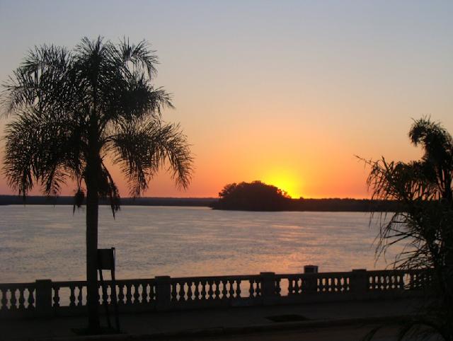 Praia Cólon na Argentina