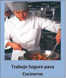 Seguridad en Trabajos de Cocineros.