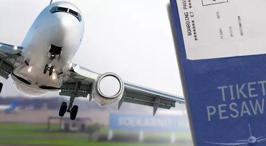Menko Darmin Pastikan Kenaikan Harga Tiket Pesawat Bakal Dongkrak Inflasi
