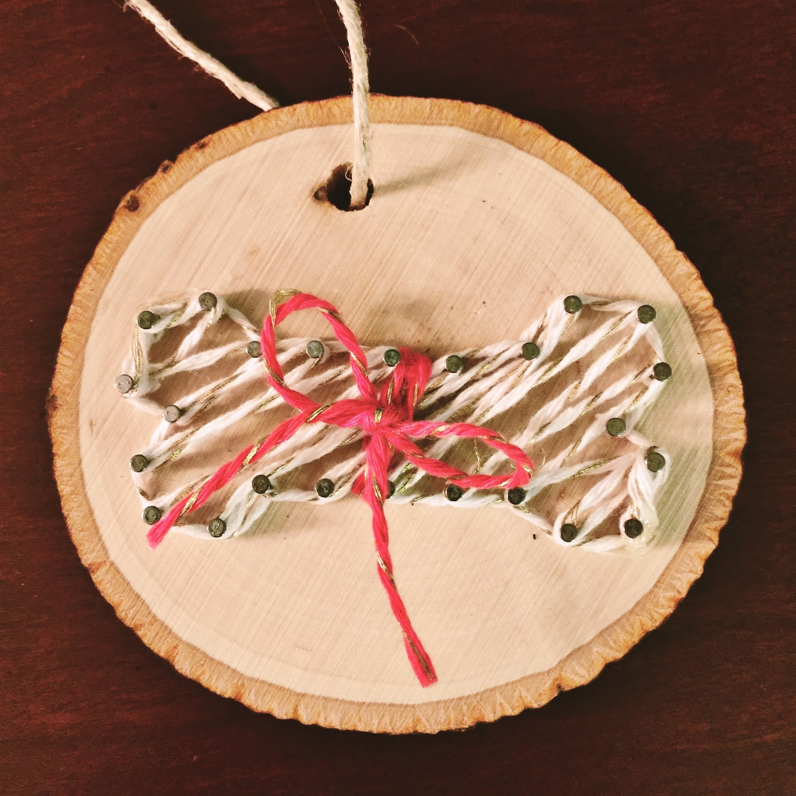 Dear paradise diy string art ornament now you have your very own string art ornament solutioingenieria Image collections