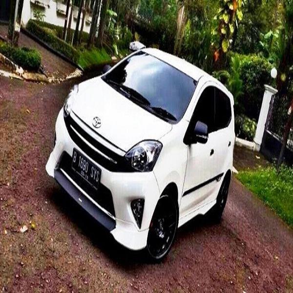 30 Modifikasi Toyota Agya Tipe TRD S G E Terbaru - Otodrift