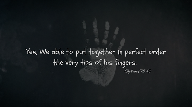 Yes,we able to put together in perfect order the  very tips of his fingers.