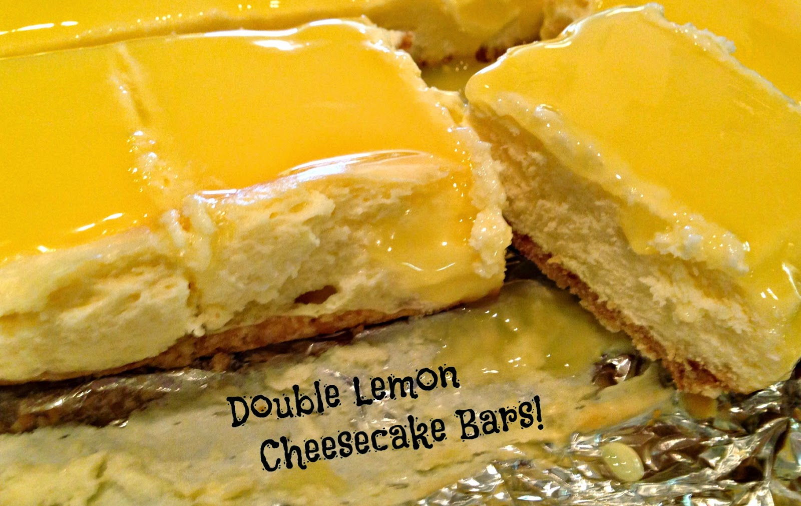 I Like to Bake and Cook!: Double Lemon Cheesecake Bars