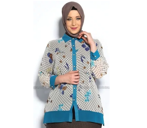 Koleksi Model Baju Batik Untuk Ibu Guru Lengan Panjang Dan