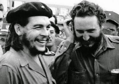 Ultimate Collection Of Rare Historical Photos. A Big Piece Of History (200 Pictures) - Che Guevara and Fidel Castro