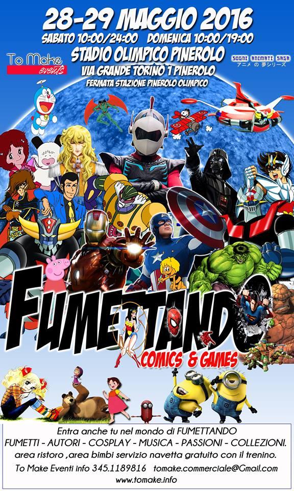 Fumettando fumettando comics and games fiera del for Calendario fiere 2016