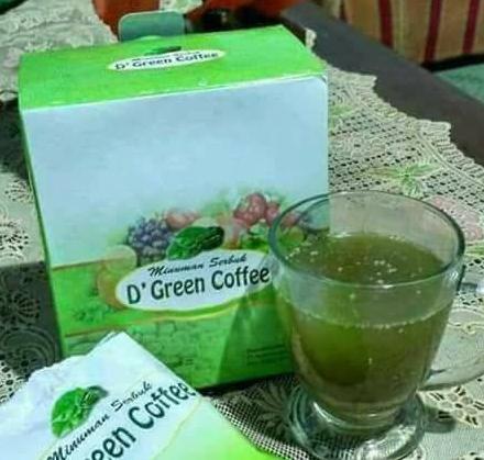 MSI D'Green Coffee Pelangsing Diet Kesehatan Tubuh